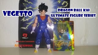 getlinkyoutube.com-Unboxing & Review do Vegetto - DBKai Ultimate Figure Series