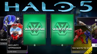 getlinkyoutube.com-Halo 5: Guardians - Warzone PREMIUM REQ Pack Opening Week 6! FIRST MYTHIC!