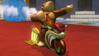 getlinkyoutube.com-Mario Kart Wii - 150cc Mii Outfit Cup Grand Prix (Custom Tracks)
