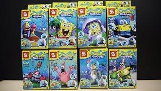 getlinkyoutube.com-LEGO SpongeBob SquarePants Sheng Yuan Bootleg Review