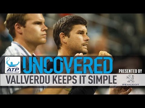 How Vallverdu Keeps It Simple With Dimitrov Uncovered 2017