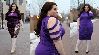 getlinkyoutube.com-Valentine's Day in Monif C. | Plus Size Fashion |