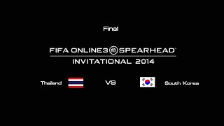 getlinkyoutube.com-FIFA Online 3 : Thailand -vs- South Korea [Final] Invitational 2014