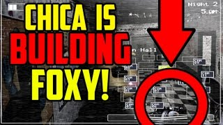 getlinkyoutube.com-Five Nights at Freddy's 2: Chica 2.0 Is BUILDING Foxy 2.0?! Or Is She Doing Something Else?