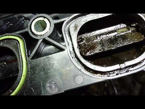 Расположение направляющих втулок клапанов у Ford Focus 2
