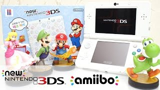 getlinkyoutube.com-뉴 닌텐도 3DS 마리오 스페셜 에디션 아미보 NEW NINTENDO 3DS MARIO Special Edition unboxing amiibo 하하키즈토이