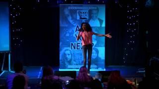 NEW YORK – ALICIA KEYS performed by JASMINE at TeenStar singing contest width=