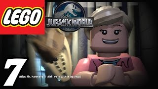 "getlinkyoutube.com-LEGO Jurassic World - Part 7 ""Restoring Power!"" (Gameplay Walkthrough 1080p)"