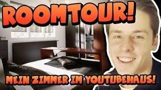 getlinkyoutube.com-ROOMTOUR #1 - MEIN ZIMMER IM YOUTUBE-HAUS! [HD]
