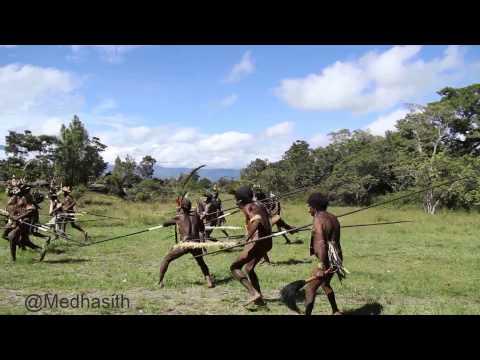 The Dani war,Wamena,West Papua