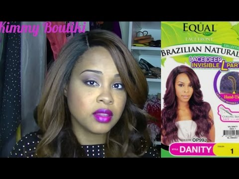 Wig Review ✿ Equal Lace Front Wig Deep L Part - DANITY Color OH227144