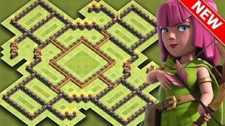 getlinkyoutube.com-Clash Of Clans | EPIC TH9 HYBRID BASE FOR NEW UPDATE | BEST Town Hall 9 Farming / Trophy Base