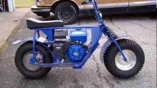 getlinkyoutube.com-Super Bronc/Bad Dog mini bike