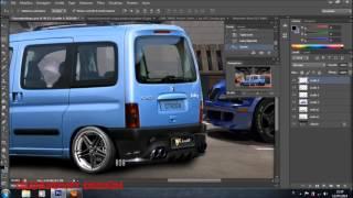 Citroen Berlingò Virtual Tuning Photoshop