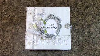 getlinkyoutube.com-PART 1 TUTORIAL 8 x 8 WEDDING ALBUM  - DESIGNS BY SHELLIE