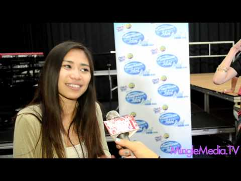 Jessica Sanchez at the American Idol LIVE! Tour 2012 Event
