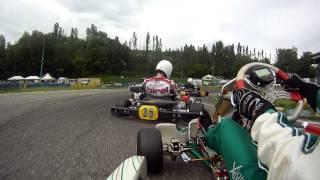 getlinkyoutube.com-Tony Kart - Vortex onboard rioveggio prefinale prodriver am 125
