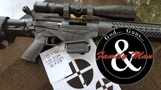 "getlinkyoutube.com-Ruger Precision Rifle: Shooting a 1/4"" Group at 100 yards"