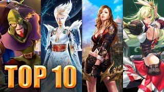 getlinkyoutube.com-Top 10 MMOs / MMORPGs 2015 2016 Deutsch German | Free2Play-Games