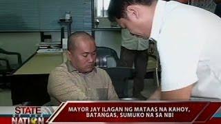 SONA: Mayor Jay Ilagan ng Mataas Na Kahoy, Batangas, sumuko na sa NBI