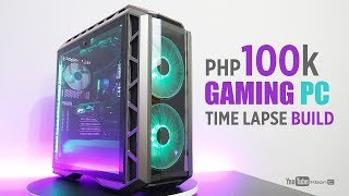 Php100k Gaming PC Build I MSI Z370 Gaming Pro Carbon AC I MSI GTX 1070 Gaming Z I Master Case H500P