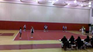 getlinkyoutube.com-Elizabeth Davis Middle Cheerleading Comp. 2010