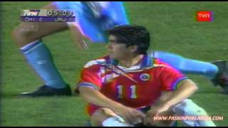 getlinkyoutube.com-Chile 1 - 0 Uruguay 1996 - Eliminatorias Francia 1998