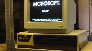 Windows 1.0 boot and preview (1987)