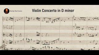 Mendelssohn - Violin Concerto in D Minor {14 year old composer}