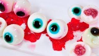 getlinkyoutube.com-วุ้นลูกตา Halloween Jelly  (เทศกาล Halloween)