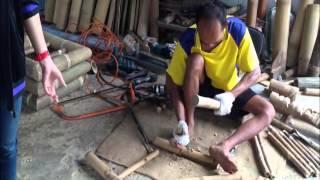 getlinkyoutube.com-กว่าจะเป็น   เก้าอี้ไม้ไผ่ตง