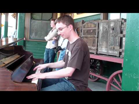Adam Swanson 4.|Railroad Medley|CPRF@EBT June 18 2011|street piano