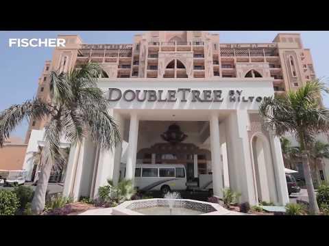 Редкая находка - отель для отдыха с детьми в Эмиратах DOUBLE TREE BY HILTON MARJAN ISLAND 5*