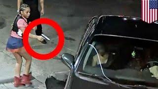 ซ่อนปืนในกางเกงชั้นใน หญิงโหดยิงแก๊งคู่อริกระจาย