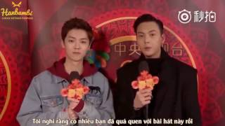 getlinkyoutube.com-[Vietsub] 170123 Luhan & William Chan for Spring Festival Gala interview.