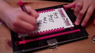 getlinkyoutube.com-Monster High Diary, Pen and Wallet Review