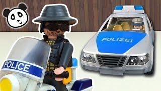 getlinkyoutube.com-Playmobil Polizei - Die Verfolgungsjagd - Pandido TV