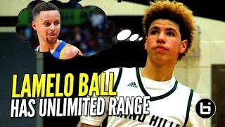 getlinkyoutube.com-LaMelo Ball The MOST RANGE In High School!? FULL Highlights From The Battlezone!