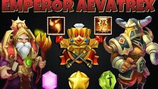 getlinkyoutube.com-Castle Clash Emperor Aevatrex!