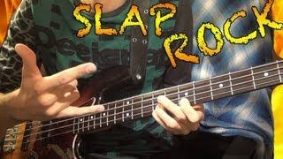 getlinkyoutube.com-FAST SLAP Bass Rock Solo