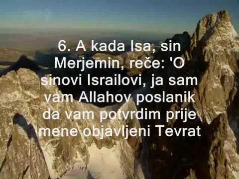 Mishary Alafasy - Sura Saff - prijevod na bosanski