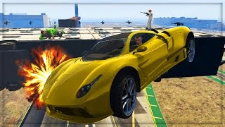 getlinkyoutube.com-GTA 5 HOT WHEELS WIPEOUT GAME !!! | GTA 5 Custom Job Online (GTA 5 Online)