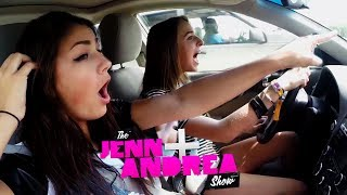 getlinkyoutube.com-Jenn & Andrea ROAD TRIP TO MALIBU!! (AND SING HIGH SCHOOL MUSICAL)