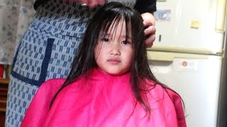 getlinkyoutube.com-髪をバッサリ切って今までにないヘアースタイル玲美