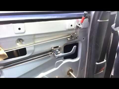 Не открывается задняя дверь на ваз 2111