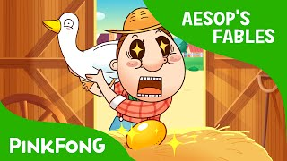 getlinkyoutube.com-The Goose That Laid Golden Eggs | Aesop's Fables | PINKFONG Story Time for Children