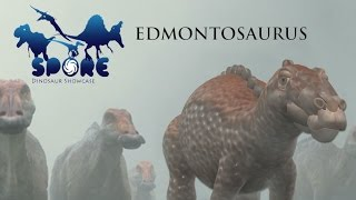 getlinkyoutube.com-Spore Dino Showcase - EDMONTOSAURUS