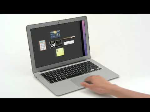 Apple Previews Mac OS X Lion Multi-Touch Gesture Support (Official Video)