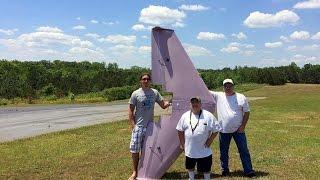 """getlinkyoutube.com-102"""" Giant flying wing"""