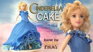 getlinkyoutube.com-DISNEY PRINCESS CINDERELLA CAKE TUTORIAL How To Cook That Ann Reardon